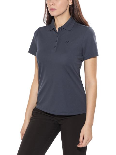 Maier Sports Ulrike Polo Shirt Women Aviator